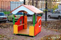 3.Детский игровой домик «Гном»