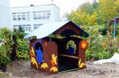 3.Детский игровой домик «Бегемотик»