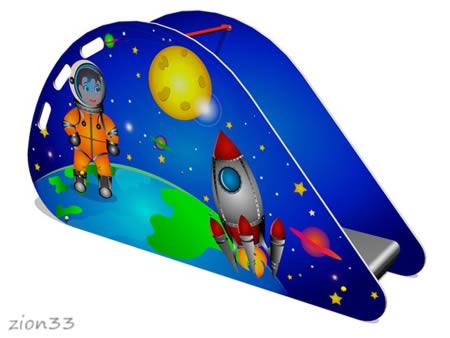 Детская горка «Космос» эскиз