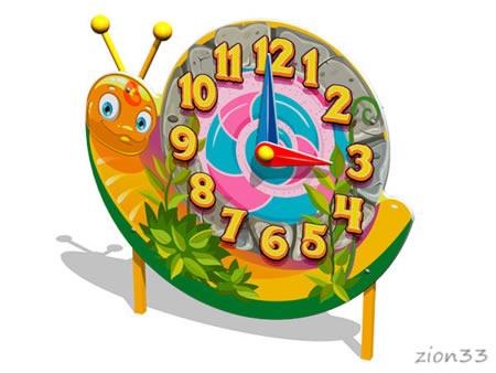 Игровая панель «Часы-Улитка» эскиз