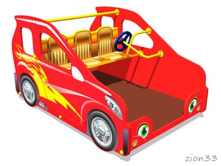 Игровой макет «Машинка Мини У1» эскиз
