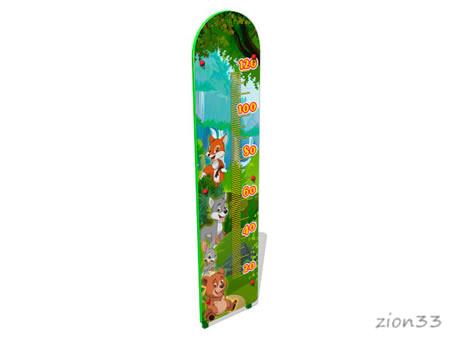 Ростомер детский уличный «Лесной мир М1» эскиз