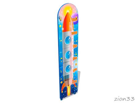 Ростомер детский уличный «Космос М2» эскиз
