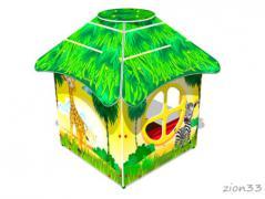 1.Детский игровой домик «Саванна У1»