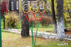 2.Мишень для бросания мяча «Олимпийские кольца»