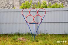 4.Мишень для бросания мяча «Олимпийские кольца»