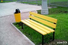 2.Скамейка парковая ДП3
