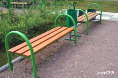 2.Скамейка парковая М1
