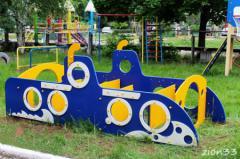 2.Лабиринт детский «Подводная лодка»