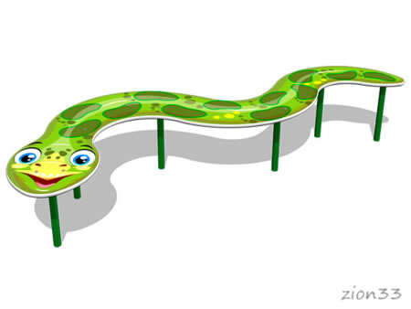 Бум детский «Забавный змей» эскиз