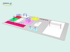 Проект школьной спортивной площадки