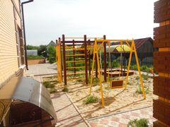Детская площадка готова к приему гостей