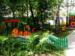 Детская площадка почти готова