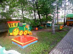 Детская площадка ждет своих гостей!