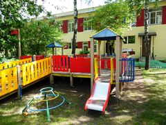 Реставрация детского комплекса в Доме малютки