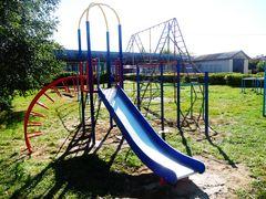 Элемент школьной площадки «Ирбис» в Воршинской средней школе