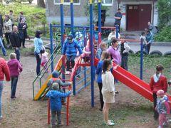 Детская площадка по адресу Лакина 3