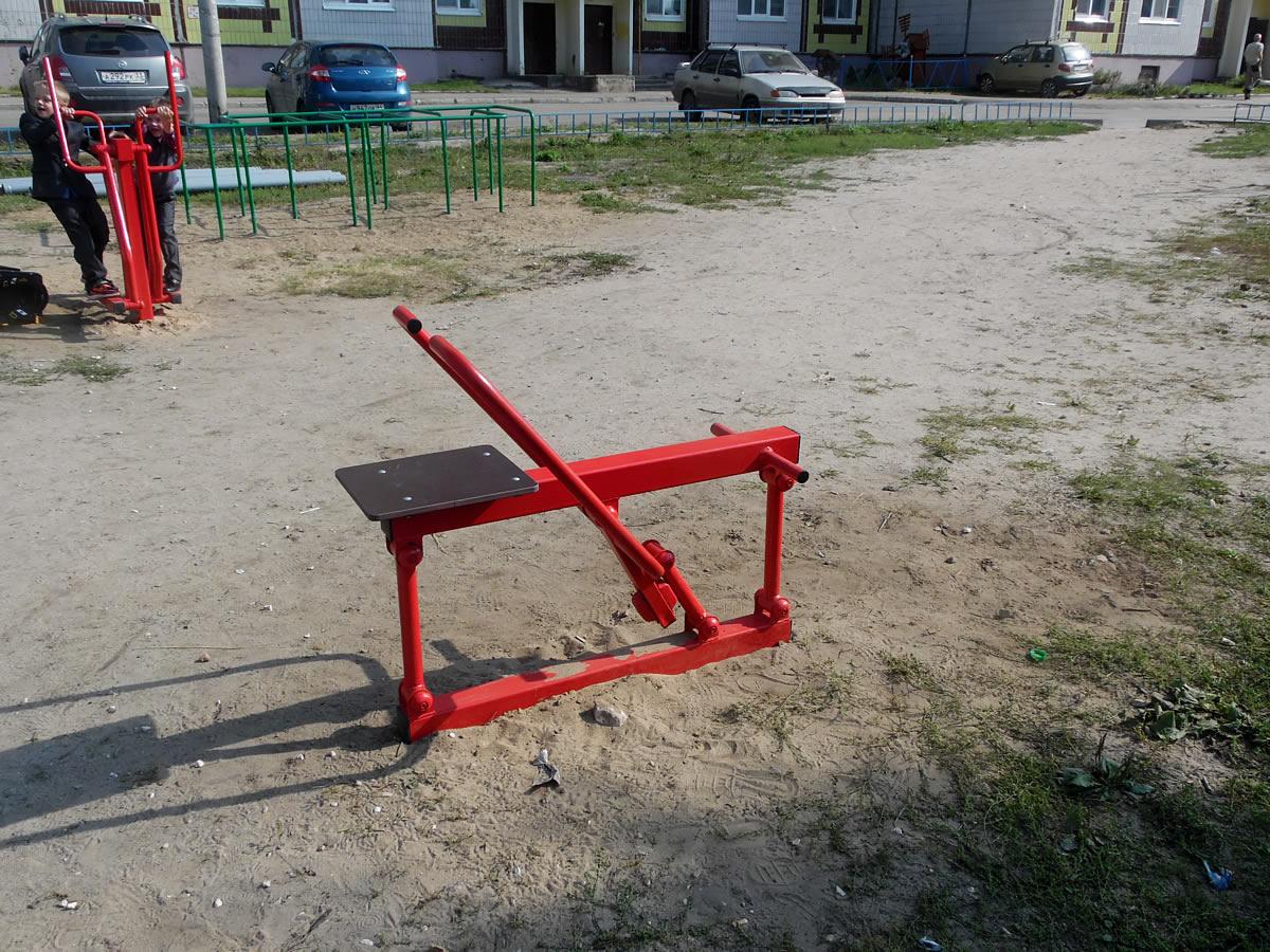 Тренажер уличный ВК12 «Гребля»