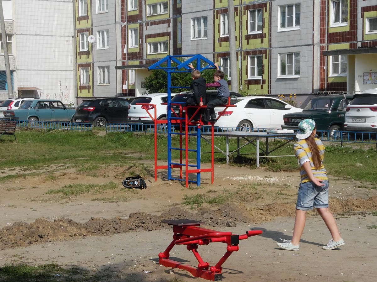 Спортивный комплекс СГК-25 - любим детворой