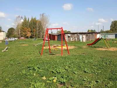 Детская игровая площадка в с.Цибеево, общий вид