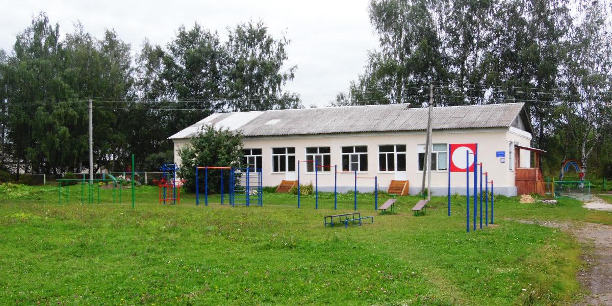 Федоровская средняя школа - спортивная площадка
