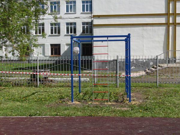 Спортивный комплекс «СГК-15» установлен