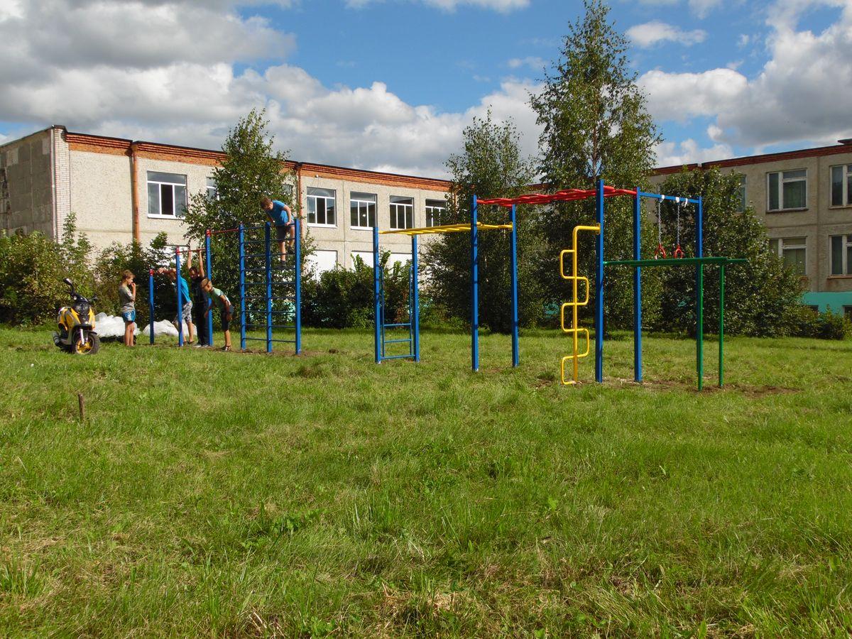 Спортивный комплекс «СГК-4» в Новосельской средней школе