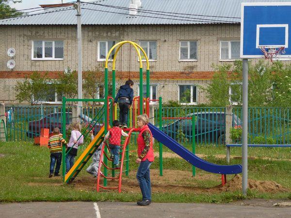 Детский игровой комплекс «Ирбис»