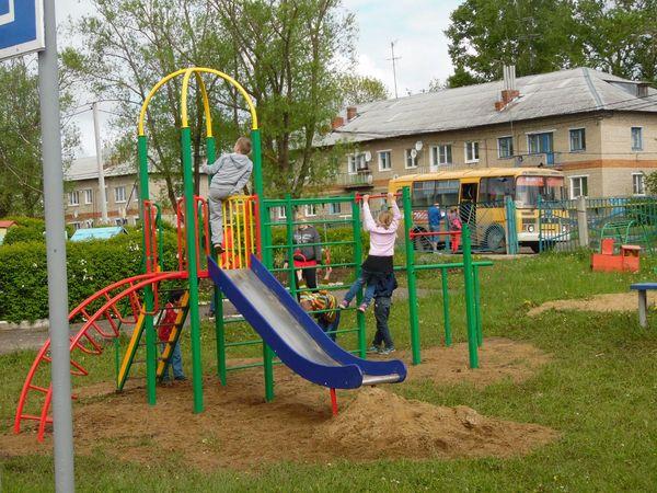 Детский игровой комплекс «Ирбис» - и спорт, и игра