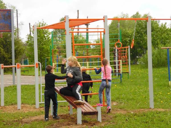 Спортивный комплекс «СГК-36» - осваиваем наклонную гимнастическую доску