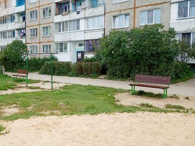 Две скамейки парковые ДП2
