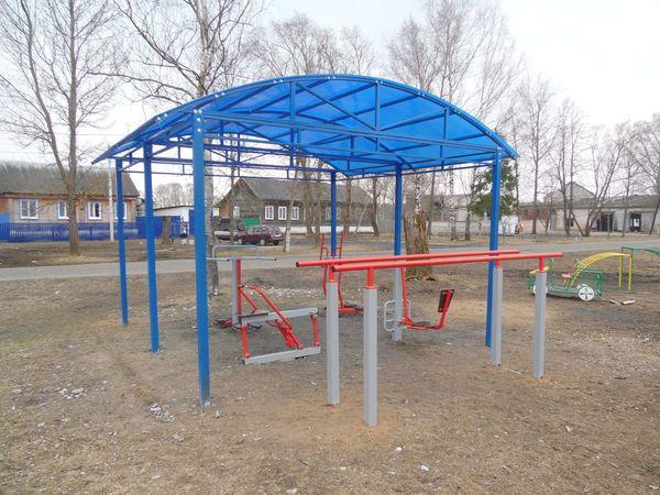 Спортивная и детская площадки в Тасинском - общий вид 2