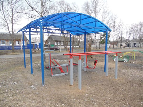 Спортивная и детская площадки в Тасинском - общий вид 4