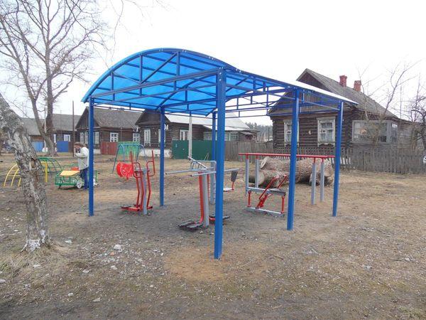 Спортивная и детская площадки в Тасинском - общий вид 5