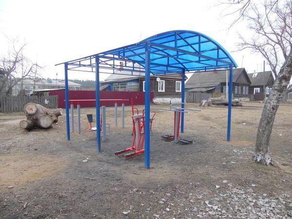Спортивная и детская площадки в Тасинском - общий вид 6