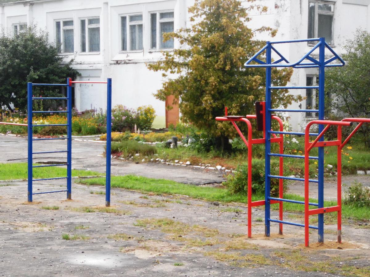 Спортивный комплекс СГК-25 и турник «Отличник»