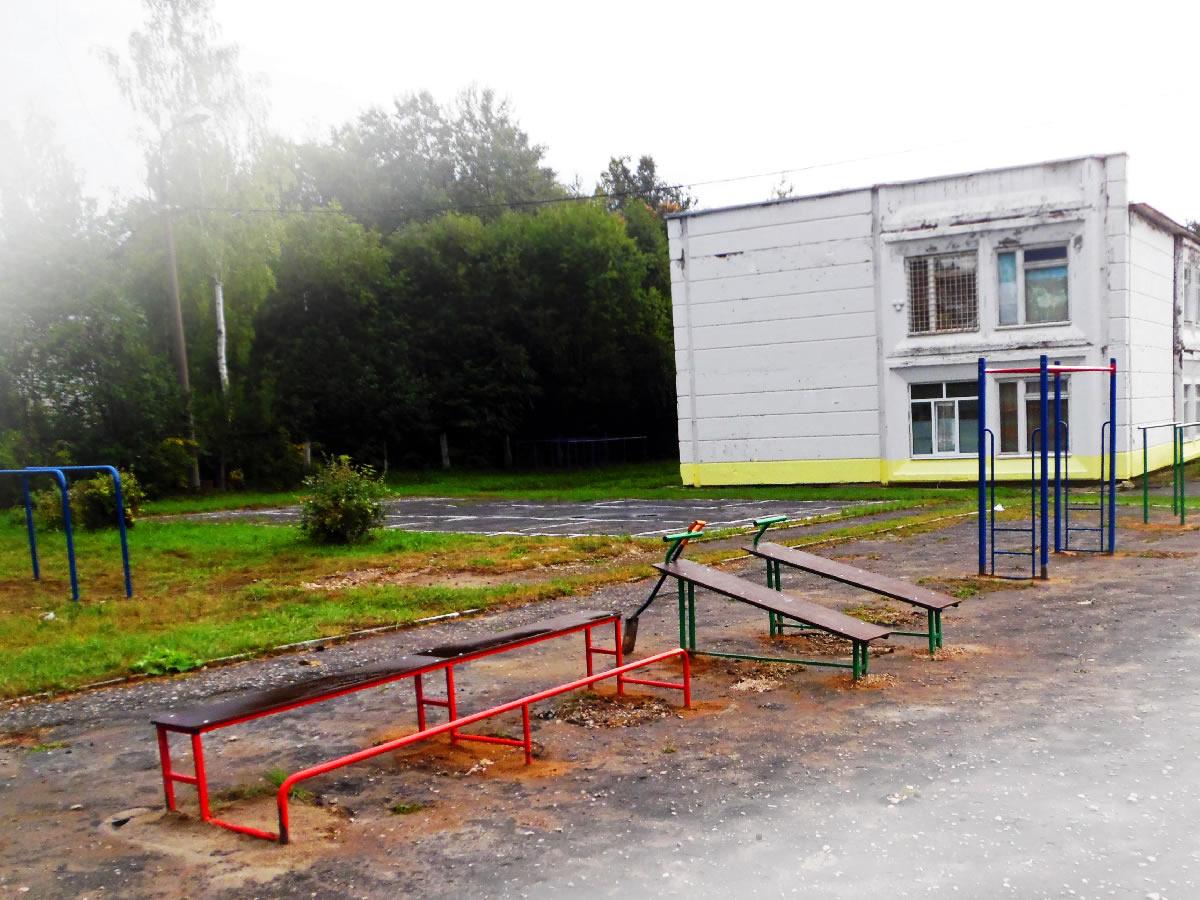 Фрагмент спортивной площадки 2