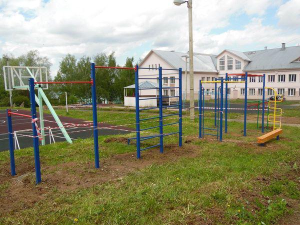 Школьная площадка в п.Энтузиаст Юрьев-Польского района