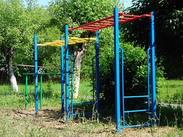 Детская спортивная площадка в школе-интернате г. Кинешма