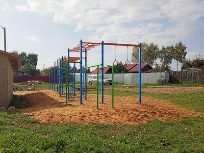 Спортивный комплекс «СГК-4» в с.Клементьево, ул.Новая