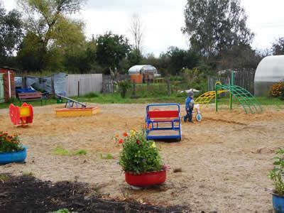 Деревня Клементьево - Детская площадка