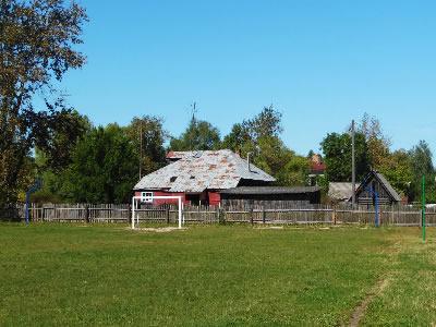 Спортивная площадка в Малышевской школе Селивановского района