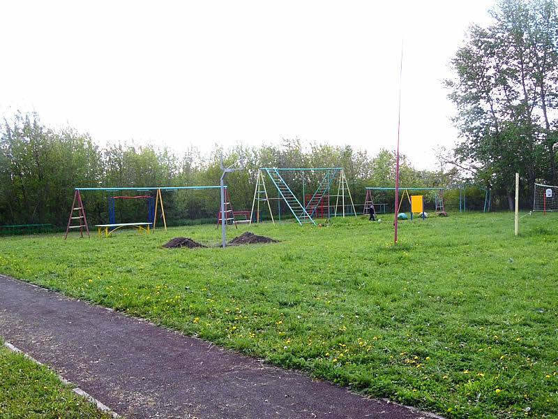Школьная площадка в с.Небылое Юрьев-Польского района