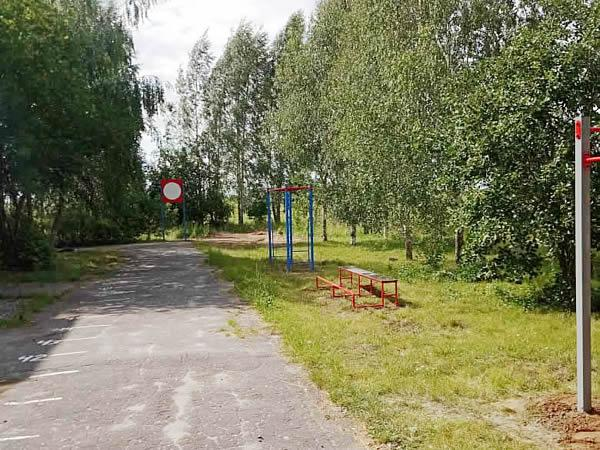 Спортивная полоска в Бабаевской средней общеобразовательной школе