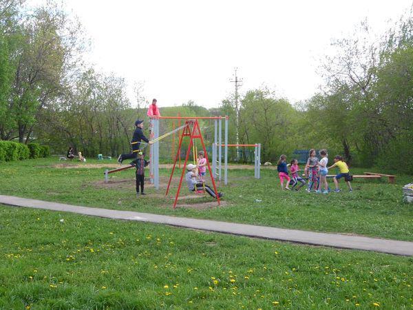 Школьная площадка в п.Шихобалово Юрьев-Польского района