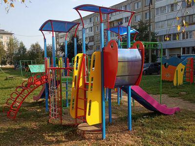 Детский игровой комплекс «Выдумка» в п.Содышка, ул.Владимирская
